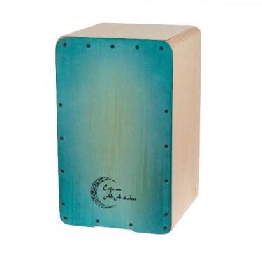 Cajon Soleá Turquoise - Al Andalus