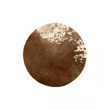 Peau de vache/veau - Ø 50 cm