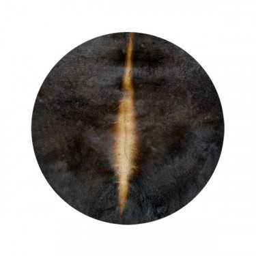 Peau de vache/veau - Ø 80 cm