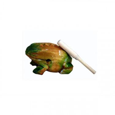 Grenouille Guïro en bois - 7 cm