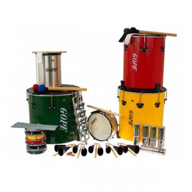 PK-MAO22 - Samba Pack Surdo de Mao - 22 Instruments