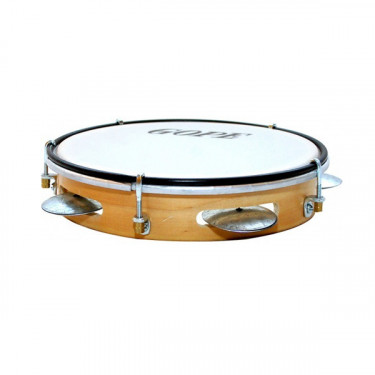 "Pandeiro 8"" - Wood & plastic drumhead - Gope"