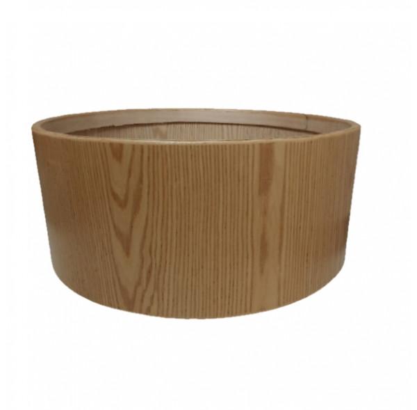"""Cadre Ash Wood pour tambour sur cadre (chamane) double peau 30"""" x 25 cm"""