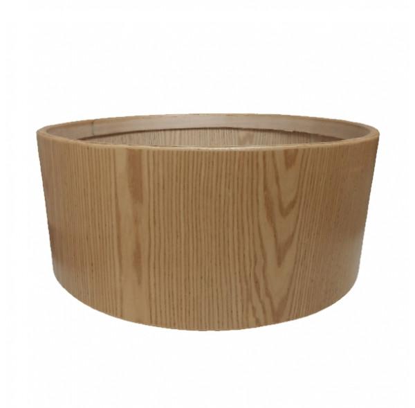 """Cadre Ash Wood pour tambour sur cadre (chamane) double peau 35"""" x 25 cm"""