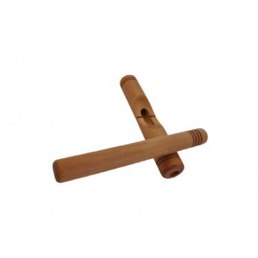 Claves en bois de type africano petite