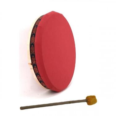 """Vegan drum - Shamanic drum with cavans drumhead - 20"""""""