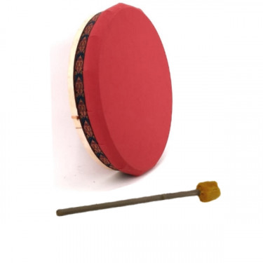 "Tambour Vegan - Tambour chamane en toile nylon - 18"" (45cm)"
