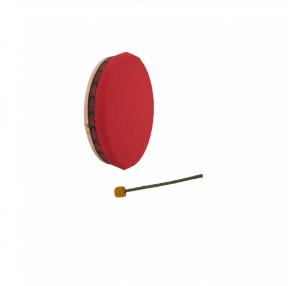 "Tambour Vegan - Tambour chamane en toile nylon - 16"" (40cm)"