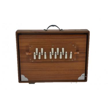 Shruti box professionnel en bois de Teck - 432 Hz avec housse de transport