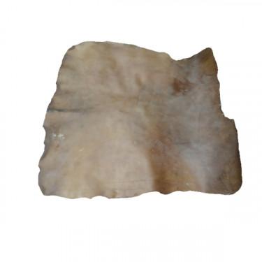 Peau de BISON parcheminée - L. 170 cm à 190 cm SUR environ 90 cm DE LARGE qualité 1er choix