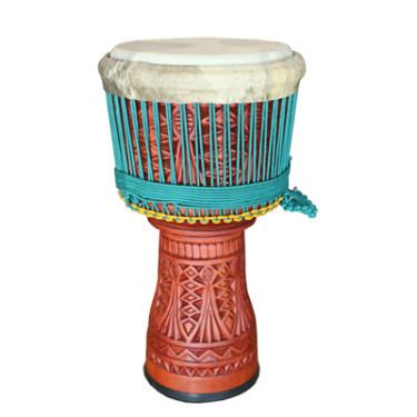 Djembe professionnel Roots Percussions - 65 CM / diamètre 31-32cm cuve gravée