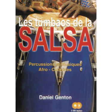 Les tumbaos de la salsa - Daniel Genton - Livre
