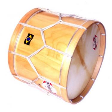 Maracatu drum - Alfaia 20' x 45 cm - Contemporânea