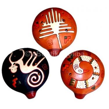 Ocarina - 6 holes - round model