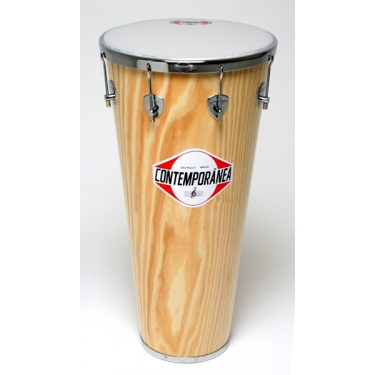 Timbal - 14 x 35 in (90 cm) - wood - Contemporãnea