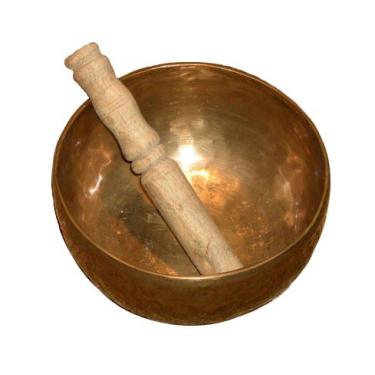 Tibetan singing bowl (0.9 to 1 kg)