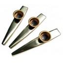 Kazoo en métal - lot de 3