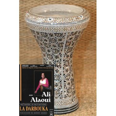 Darbuka set: Soloist Darbuka + Ali Alaoui DVD method