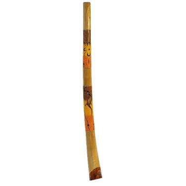 Didgeridoo - Painted Teck wood
