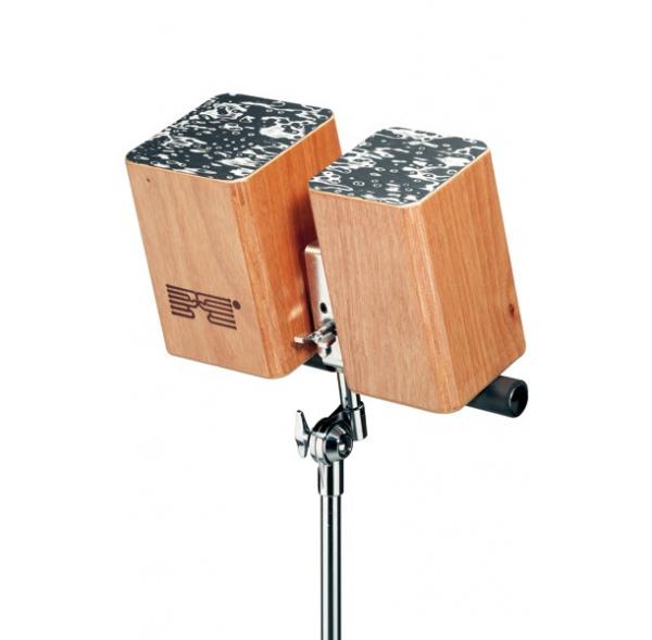 Bongo bois pour montage sur pied - Schlagwerk