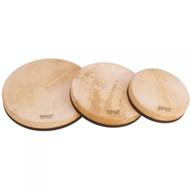 Frame drum - 16 in - wooden cross support - Schlagwerk