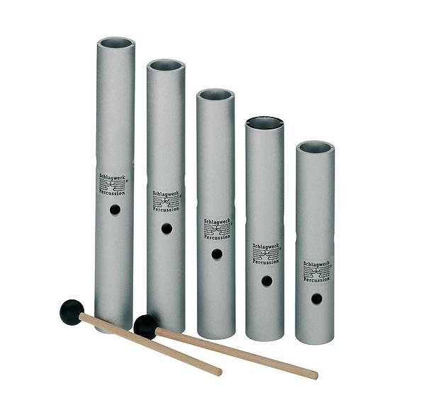 Wah wah tubes - 5-piece set - tuned - Schlagwerk