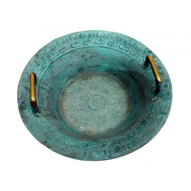 Taoist singing bowl - China