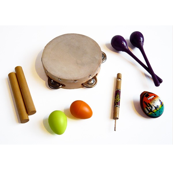 6-instruments pack for children