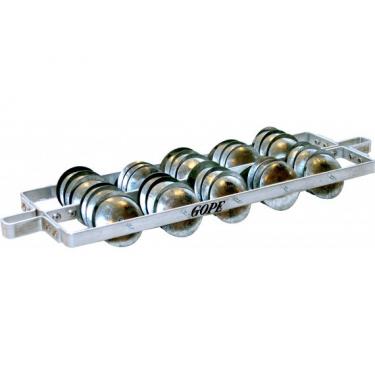 Rocar (chocalho) aluminium fin - Gope