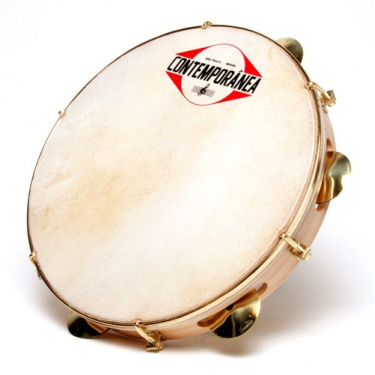 "Pandeiro 10"" - Goat skin head - extra light - Contemporânea"
