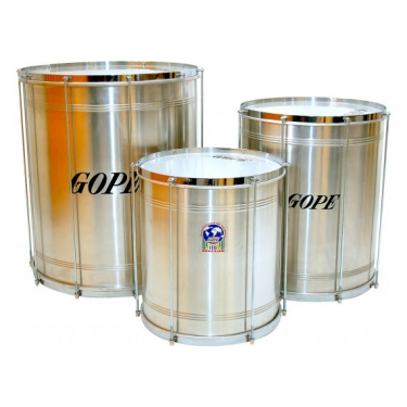 "Surdo aluminium Samba 16"" x 50 cm - Gope"