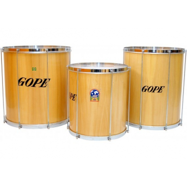 "Surdo Wood Samba 14"" x 40cm - Gope"