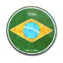 """Peau prismatique 10"""" - drapeau Brésil - Izzo"""