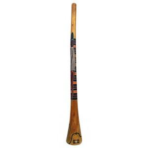 Didgeridoo eucalyptus peint