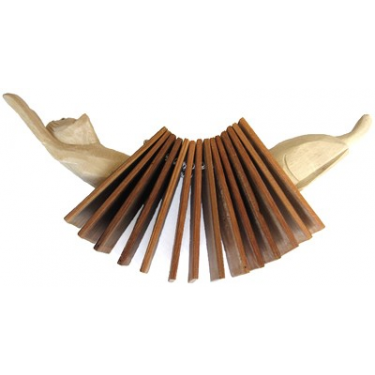Crécelle à lamelles - Animaux accordéons