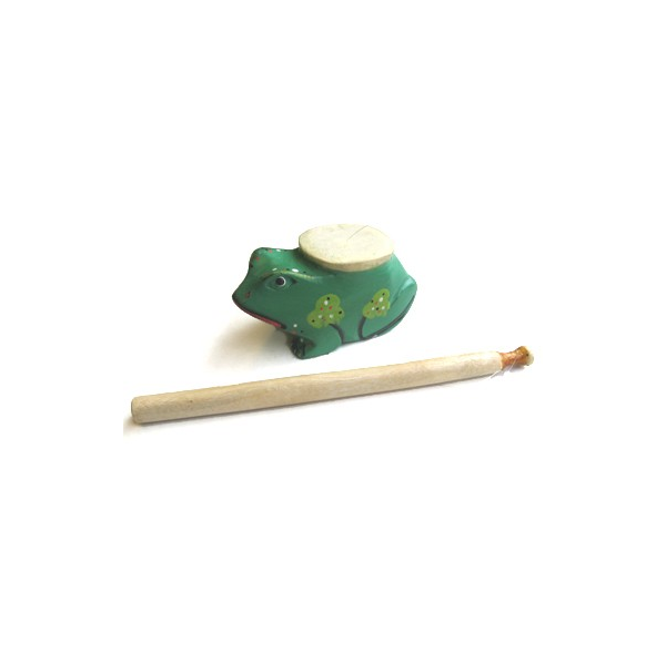 Taka-taka grenouille peint