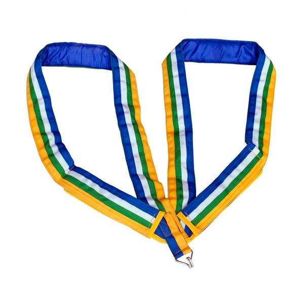 Deluxe strap - One open hook - Velcro fastening - Roots