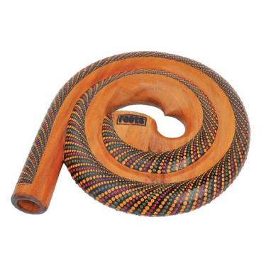 Snail painted didgeridoo + bag