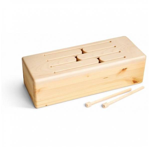 Tepo - Tambour de bois 6 notes