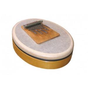 Sansula La majeur - kalimba sur peau - Hokema