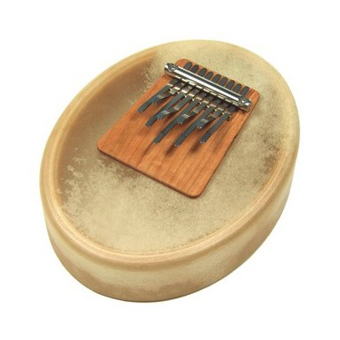"Kalimba - Sansula ""Deluxe tunable model"" with goat skin - Hokema"