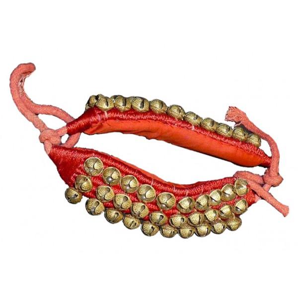 bracelet de cheville avec 3 rangs de grelots bracelet danse indienne. Black Bedroom Furniture Sets. Home Design Ideas