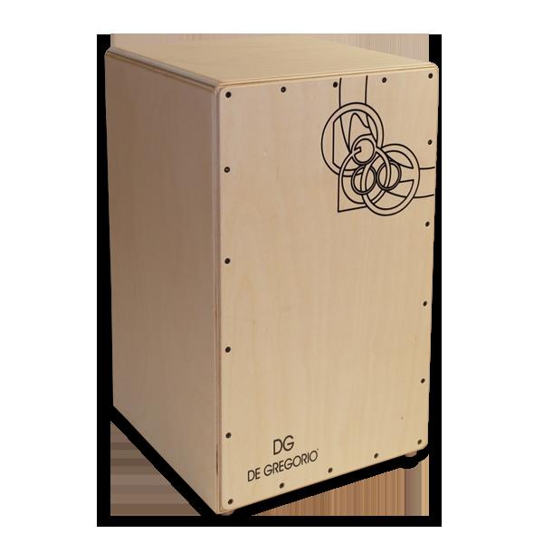 Cajon DG Kyio Natural  caisse musicale en bois pour flamenco ~ Instrument Caisse En Bois