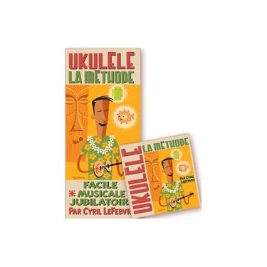 Méthode de Ukulélé + dico + cd
