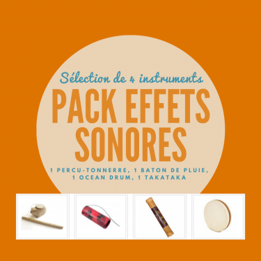 Pack Effets Sonores 4 instruments