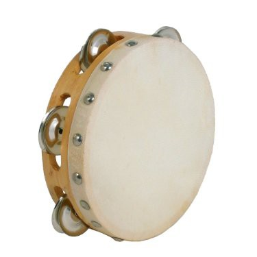 "tambourin 6"" avec cymbalettes"