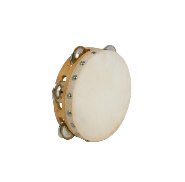 "tambourin 6"" avec cymbalettes"