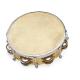 "Tambourin 8"" réglable avec 1 rangée de cymbalettes"