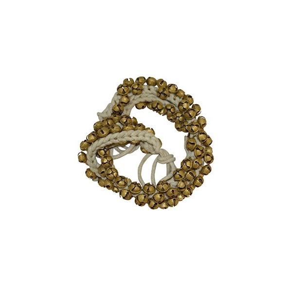 Ghungroo - Bracelet de cheville 50 grelots