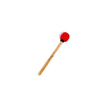 Batte de surdo - manche bois - feutrine ovale dure - Terceira - 33 cm - Macapart